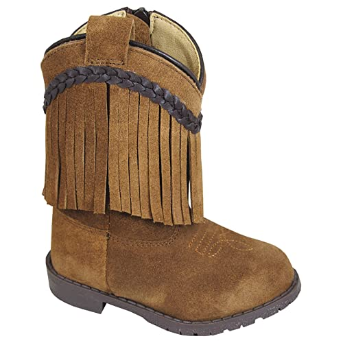 d73d6519c Smoky Mountain HOPALONG - TODDLERS BROWN DISTRESS LEATHER BOOT