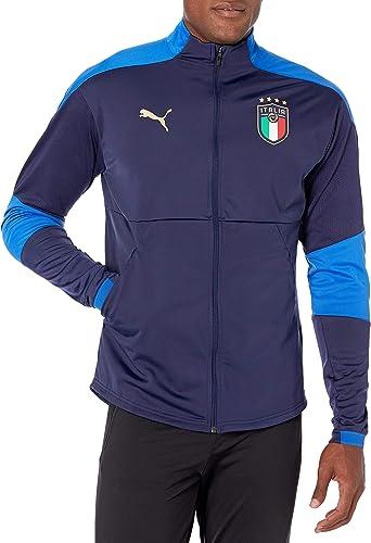 PUMA - Veste de survêtement FIGC pour Homme WZ/P, X-Small, Peacoat ...