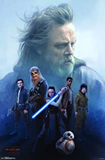 Trends International Star Wars: The Last Jedi - Protect Wall Poster, 22.375