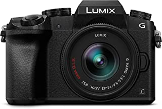 Panasonic Lumix DMC-G7KEC - Cámara EVIL de 16 MP Pantalla 3 Grabación de Vídeo en 4K Wi-Fi RAW Cuerpo Ergonómico Kit con Objetivo Lumix Vario 14 - 42 mm/F3.5 - 5.6