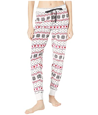 P.J. Salvage Holiday Love Jogger (Ivory) Women