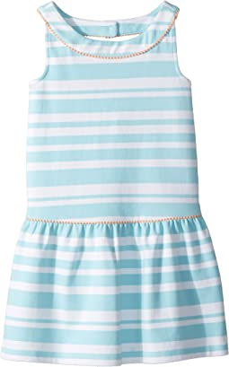 Sleeveless Stripe Dress (Toddler/Little Kids/Big Kids)