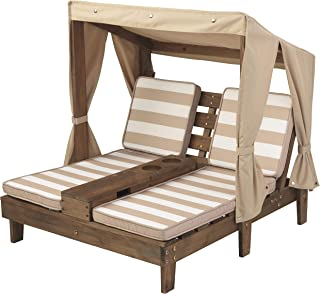 KidKraft Double Chaise Lounge with Cup Holders (Renewed)