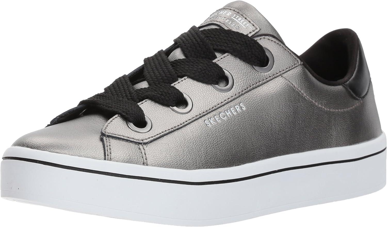 Skechers Womens Hi Lite - Metallic Leather Fashion Sneaker