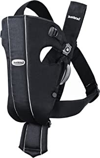 BABYBJORN Baby Carrier Original – Black, Cotton