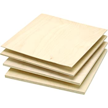 Amazon Com Midwest Thin Birch Plywood 1 16 In X 12 In X 48 In Sheet Birch R C Aircraft Modeling Home Kitchen
