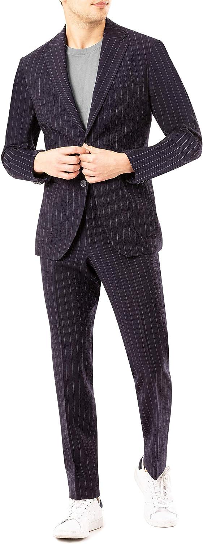 DKNY Men's Active Tailored Suit