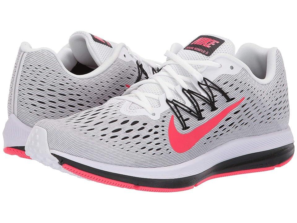 Nike Air Zoom Winflo 5 (White/Red Orbit/Pure Platinum/Cool Grey) Men