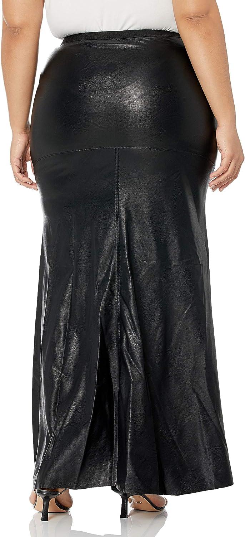 [BLANKNYC] Womens Vegan Leather Maxi Skirt