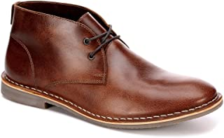 Mens Dade Leather Chukka Boot Shoes