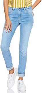 Tommy Hilfiger Women's WW0WW22279-Blue Tommy Hilfiger Skinny Jeans for Women - Blue