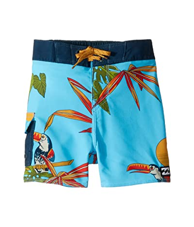 Billabong Kids Sundays Pro Boardshorts (Toddler/Little Kids) (Coastal) Boy