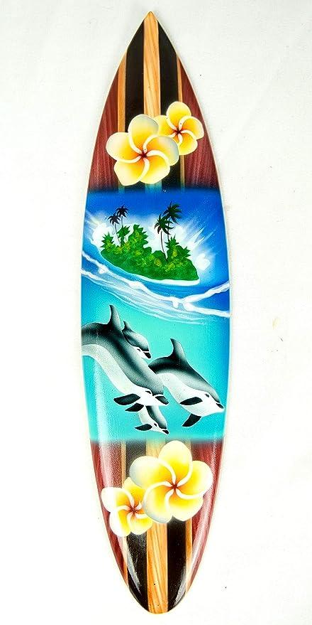 Asia Design Tavola Da Surf In Miniatura Con Supporto In Legno Decorazione N 15 20 Cm Amazon It Casa E Cucina
