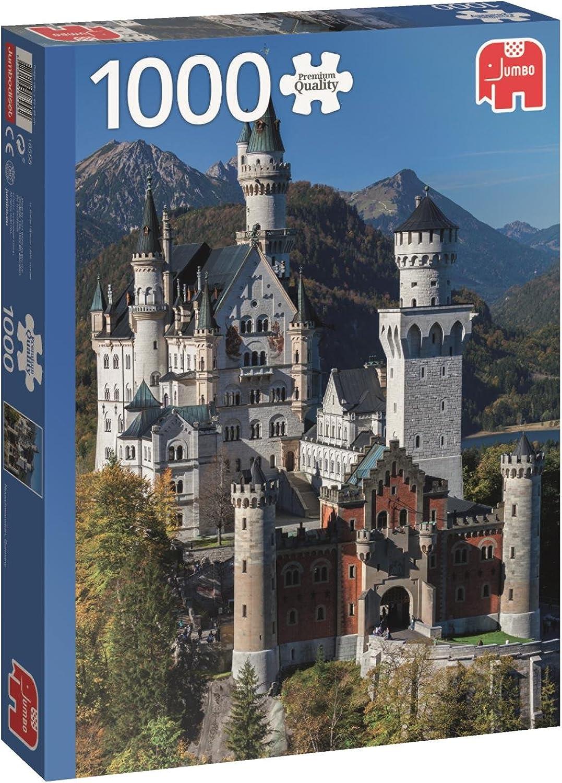 Schloss Neuschwanstein, Deutschland  1000 Teile Puzzle