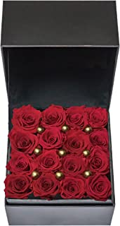 D&D design Premium Preserved Roses for All Special Occasion, Ideal Gift for Christmas, New Year, Valentine's, Mother's Day...