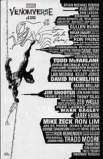 Sam De La Rosa Autographed Signed Venomverse Autographed Signed #1 Skyline Variant Marvel Comic W Sketch 14/50 - Certified Authentic