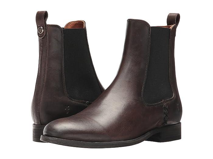Frye  Melissa Chelsea (Slate) Womens Pull-on Boots