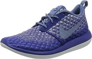 Nike W Roshe Two Flyknit 365 Womens Sneaker Blue 861706 400, Size:37.5