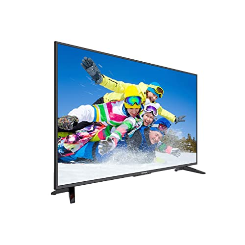 "Komodo by Sceptre 50"" 4K UHD Ultra Slim LED TV 3840x2160 Memc 120, Metal Black (KU-515)"