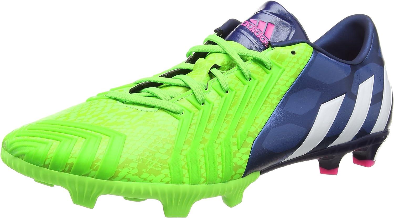 Adidas Predator Absolion LZ FG Football Boots Rich bluee Running White Solar Green