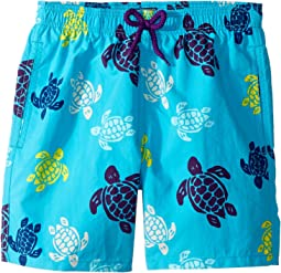 Vilebrequin Kids - Tortues Multicolor Swim Trunk (Big Kids)