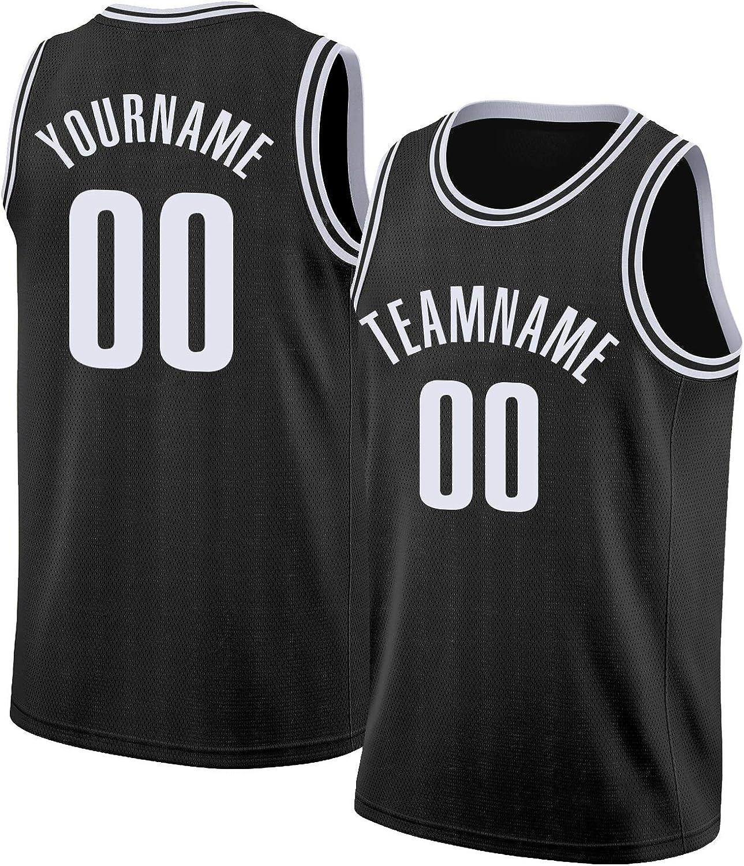 Custom Round Neck Rib-Knit Basketball New arrival Max 76% OFF Boy-Make Men Jerseys for
