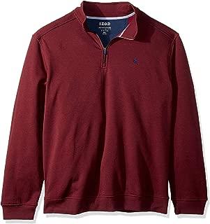 Men's Big and Tall Advantage Performance Quarter Zip Fleece Pullover