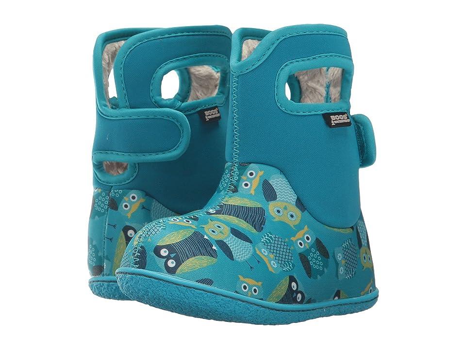 Bogs Kids Baby Bogs Owls (Toddler) (Blue Multi) Girls Shoes