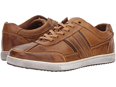 Kenneth Cole Reaction Sprinter Sneaker (Tan Leather) Men