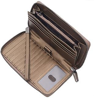 Portmonee Damen mit RFID Schutz Geldbeutel, Portemonnaie, Geldbörse, Brieftasche, Damengeldbeutel, Damengeldbörse lang gro...