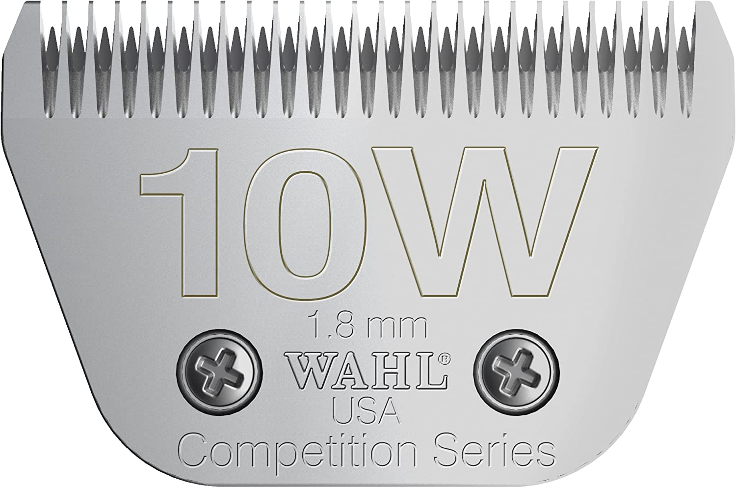 Wahl Professional Animal  10W Extra Wide Competition Blade 1 16   2377100