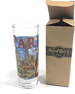 Hard Rock Cafe HRC Paris (Francia) City Shot Glass