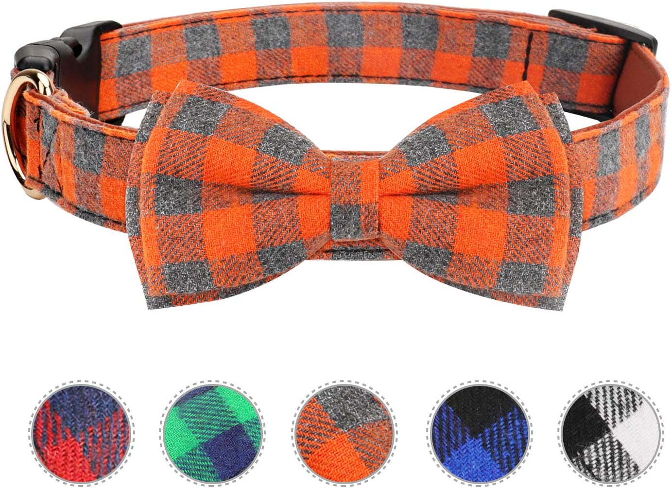 Vaburs security Dog Bow Tie Cat Buckle Collar Light Our shop most popular Pla with