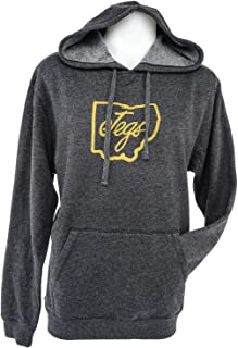 JEGS Apparel and Collectibles 18268 JEGS Ohio Lightweight Fleece Hoodie Medium