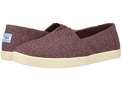TOMS Avalon (Eggplant Terry Cloth) Women