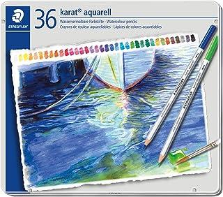 ステッドラー 色鉛筆 36色 水彩色鉛筆 カラトアクェレル 125 M36
