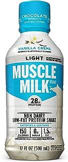 Muscle Milk Muscle Milk Light Protein Shake, Vanilla Creme, 12 Count