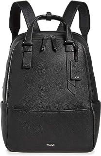 TUMI - Varek Worth Leather Laptop Backpack - 15 Inch Computer Bag for Men and Women - Black