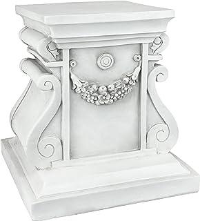 Design Toscano NG314105 Classic Statuary Plinth Bases, Medium