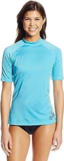 قميص Kanu Surf نسائي مزود بعامل حماية من أشعة الشمس 50+ بأكمام قصيرة ورياضي I