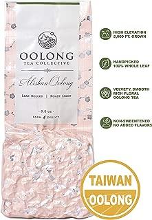 Alishan High Mountain Oolong Tea - 2019 Fresh Harvest - Handpicked - Natural Loose Leaf Tea - No Additives - 100% Taiwan Farm Direct by Oolong Tea Collective (5.3oz)
