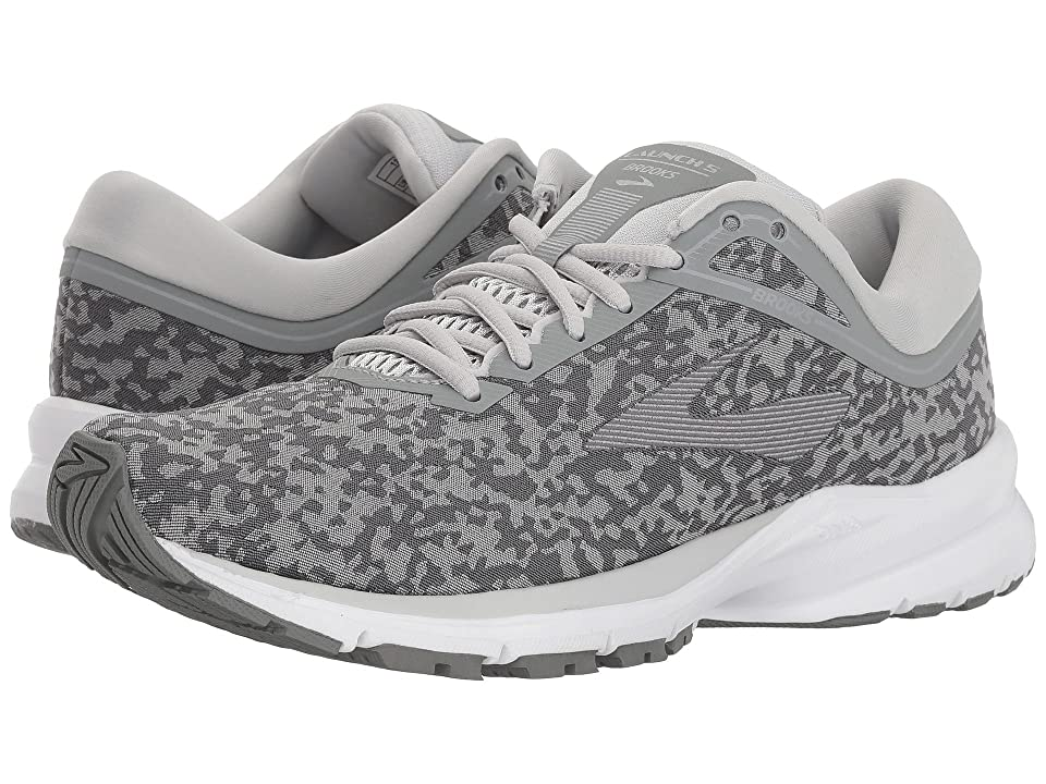 Brooks Launch 5 (Grey/Microchip/White) Women