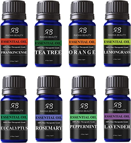 Essential Oil Sets (Top 8)