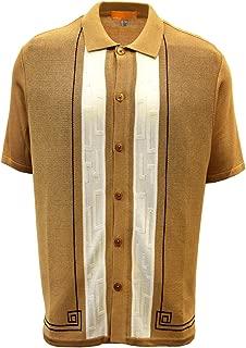 Edition S Men's Short Sleeve Knit Shirt - California Rockabilly Style