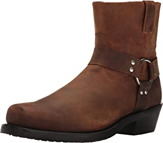 Old West Boots Men's Short Harness Boot