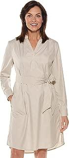 Coolibar UPF 50+ Women's Oxford Shirt Dress - Sun Protective