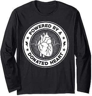 Funny Organ Heart Transplant Awareness Long Sleeve Shirt