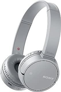 Sony 索尼 WH-CH500 无线蓝牙NFC蓝牙耳机,20小时电池续航时间 - 灰色