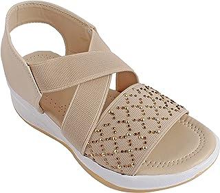 Footstreet Cross Ankle Strap Kids Panga Sandals