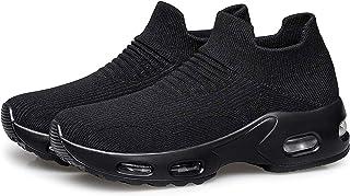 Womens Walking Shoes Slip on Sock Sneakers Lady Girls...